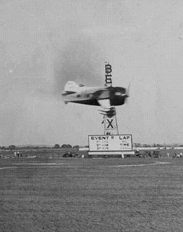 Gee Bee in Bendix Race