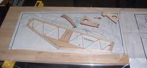 building RC plane horizontal stab