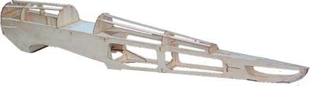 building RC plane fuselage