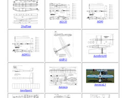 free model airplane plans download