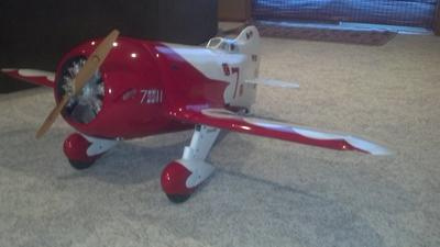 1/4 scale R2 Gee Bee