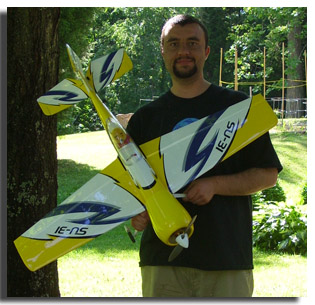 Cole and HIS Parkzone T-28