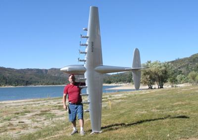 Jim S Scratch Built Rc Spruce Goose