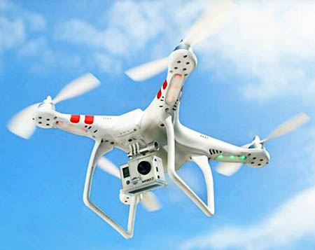 The DJI Phantom Quad Is Specifically Made For Filming With A GoPro Camera Its Little On Pricey Side But Actually Fairly Inexpensive