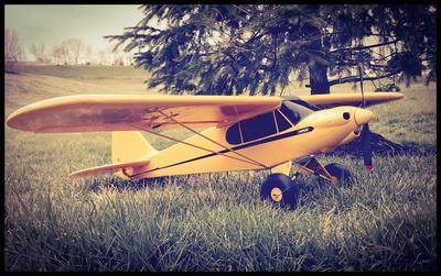 Pz Sport Cub transformation to 1946 Piper Family Cruiser